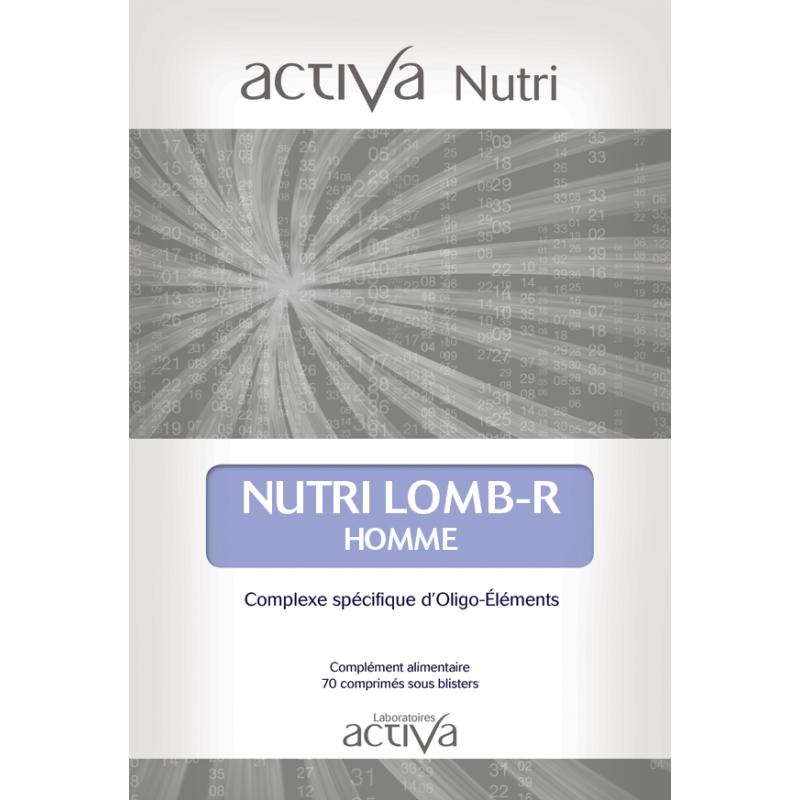 Complément Alimentaire Lomb-R Homme Activa Nutri   Produits Nutritifs