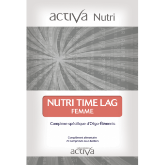 Complément Alimentaire Time Lag Femme Activa Nutri   Produits Nutritifs