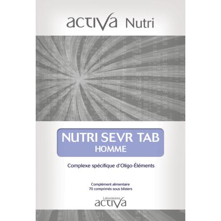 Complément Alimentaire Sevr Tab Homme Activa Nutri   Produits Nutritifs