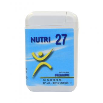 Complexes Oligo-Métaux Nutri 27   Produits Nutritifs