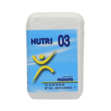 Complexes Oligo-Métaux Nutri 03 | Produits Nutritifs