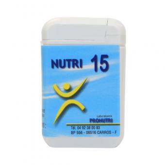 Complexes Oligo-Métaux Nutri 15   Produits Nutritifs