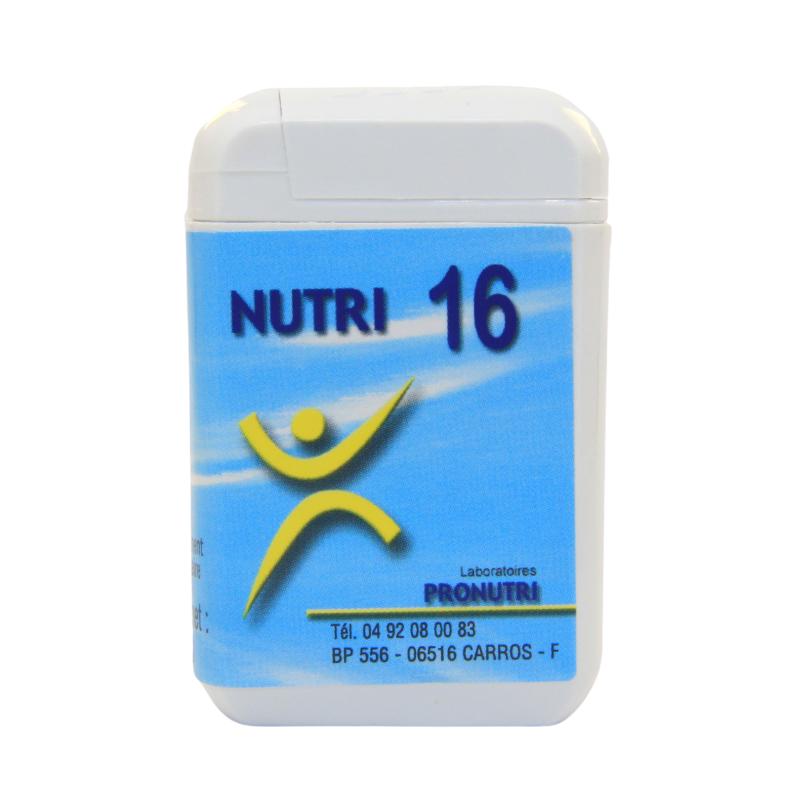 Complexes Oligo-Métaux Nutri 16   Produits Nutritifs