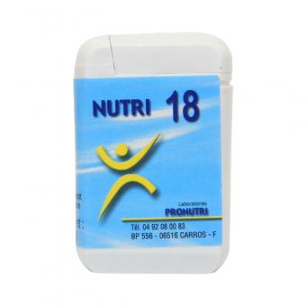 Complexes Oligo-Métaux Nutri 18   Produits Nutritifs