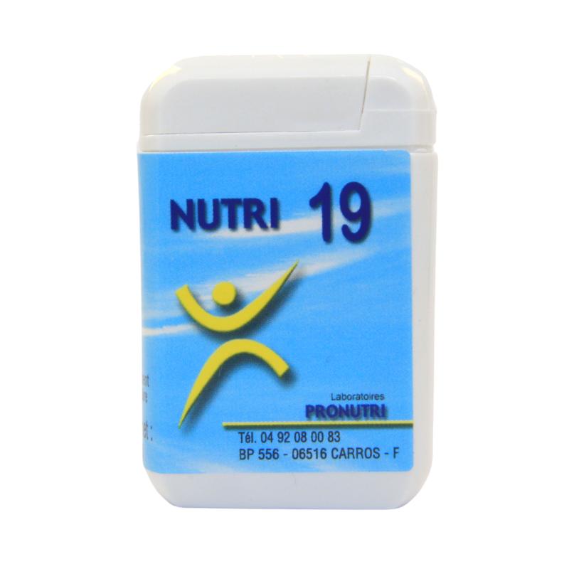Complexes Oligo-Métaux Nutri 19 | Produits Nutritifs