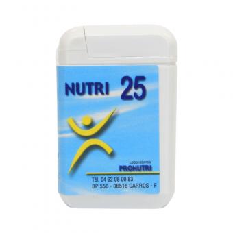 Complexes Oligo-Métaux Nutri 25   Produits Nutritifs